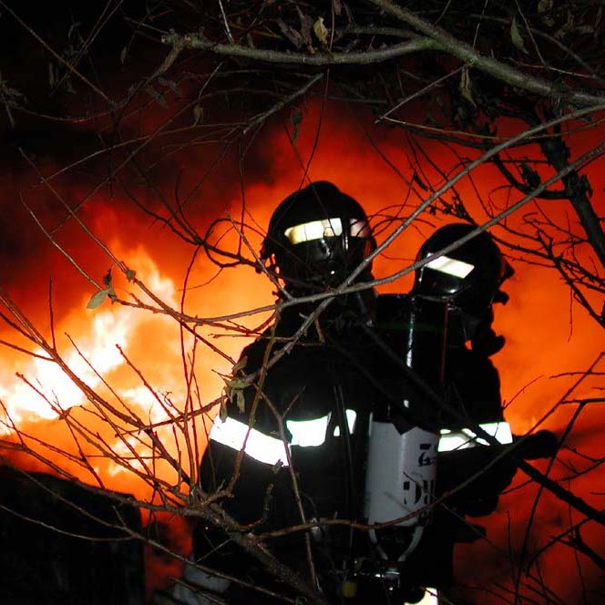 IMAT'Fire® used for PPE against fire